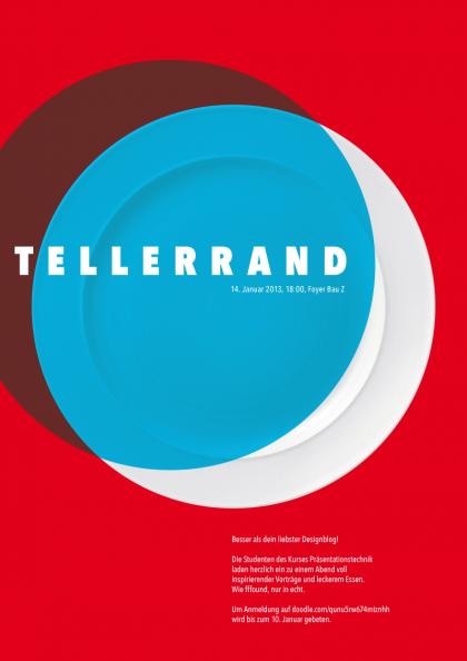 Plakat Tellerrand